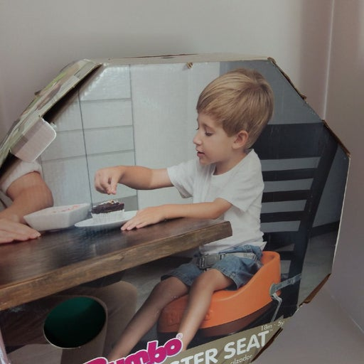 Bumbo Booster Seat Baby Toddler Eat Sit