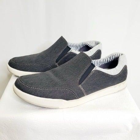 Clark's Black Canvas Slip-on Loafer