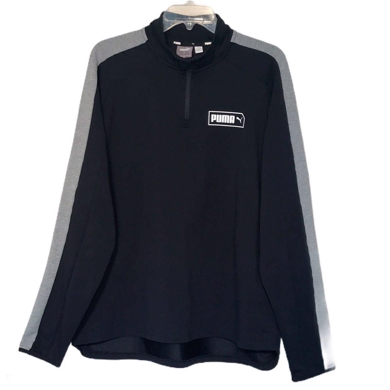 Puma Stretchlite 1/4 Zip Sweatshirt NWOT