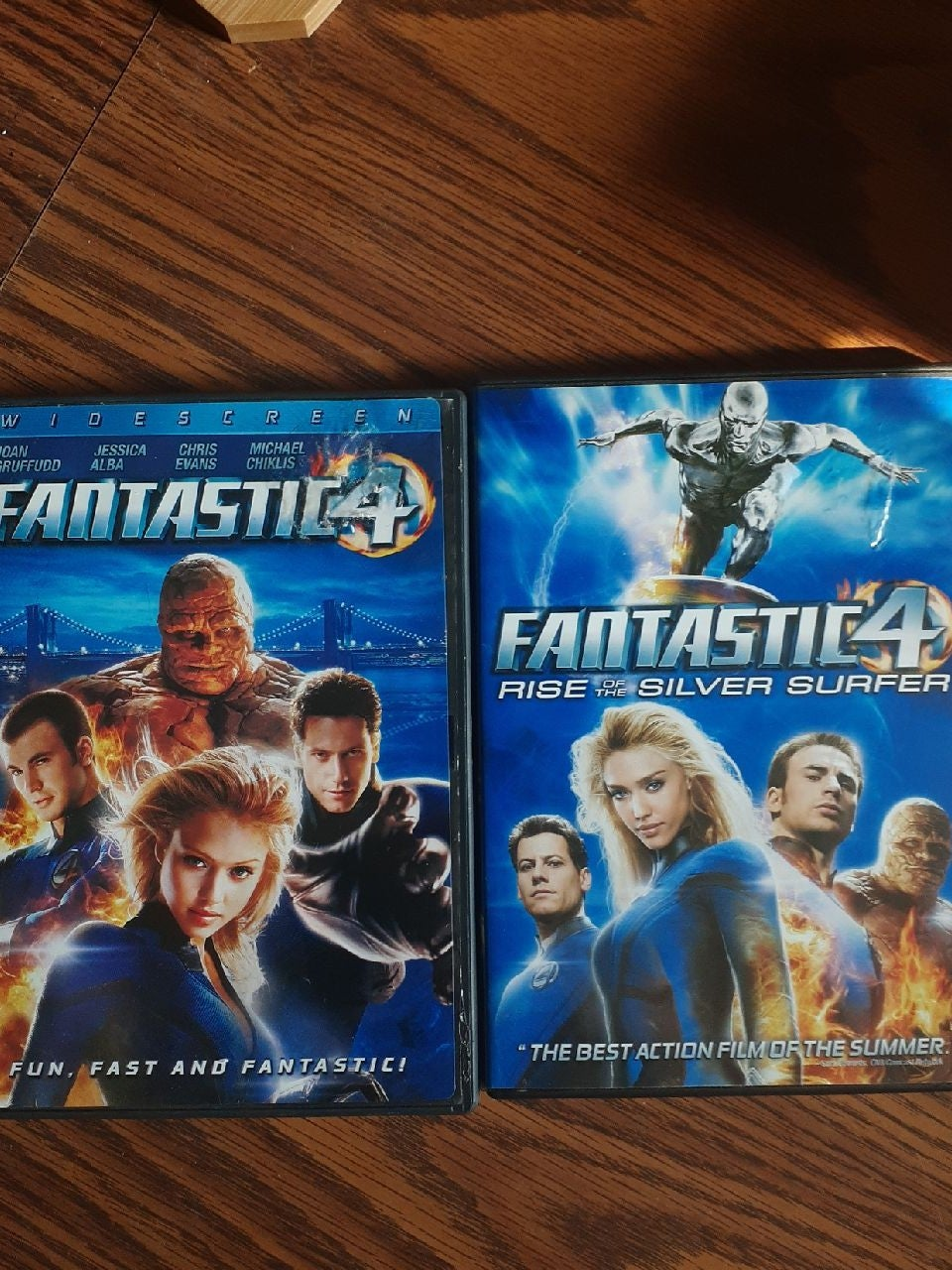 Fantastic 4 AND Rise Of The Silver Surfe