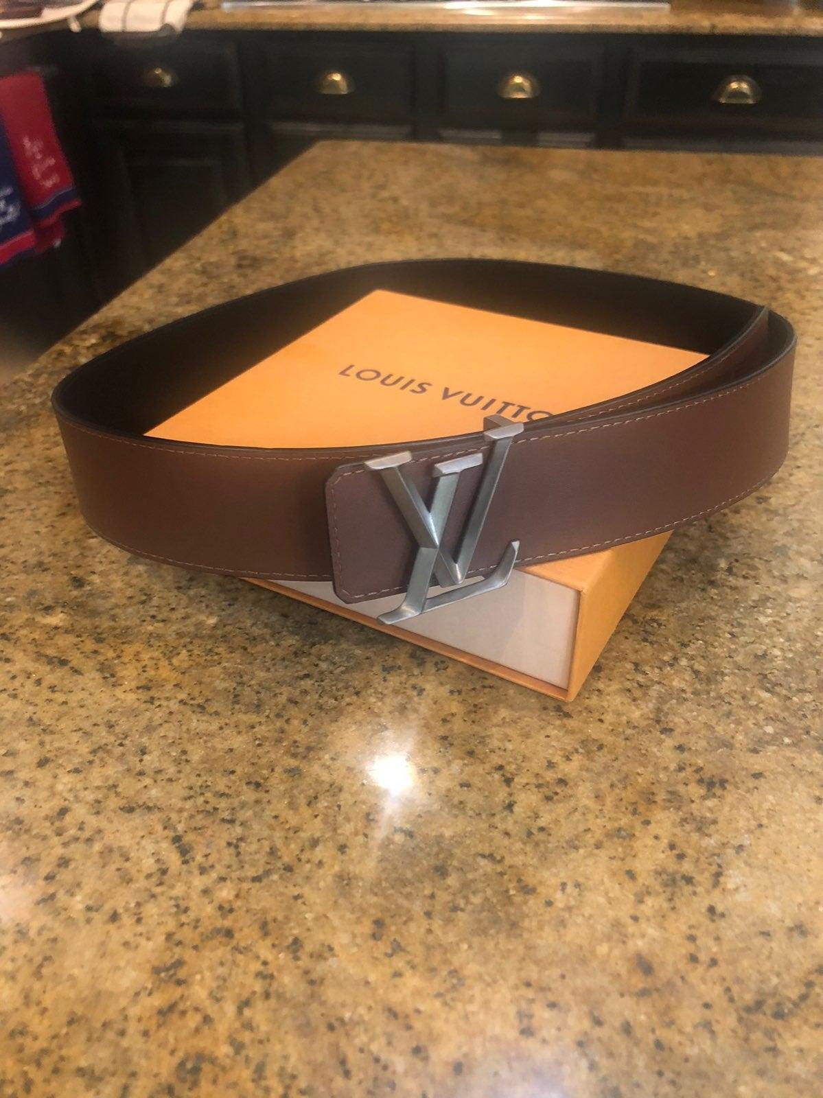 AUTHENTIC Men's Louis Vuitton Belt