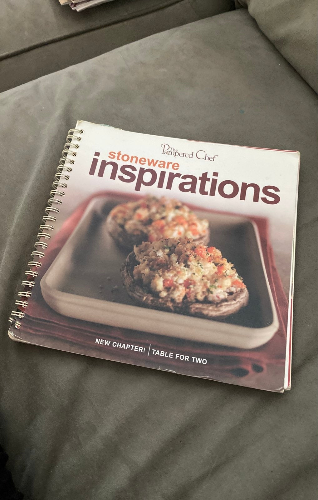 Pampered Chef Cookbook Stoneware inspira