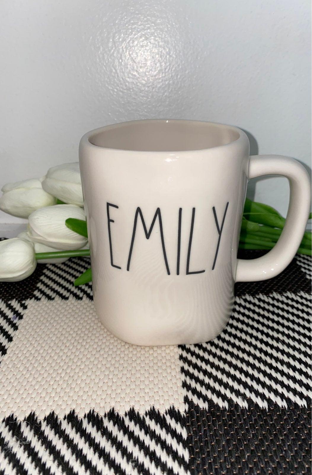Rae Dunn EMILY Mug