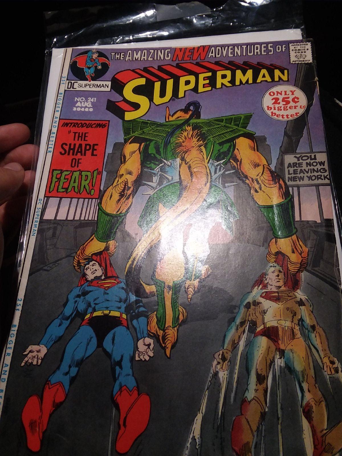 1971 superman 241 comic book