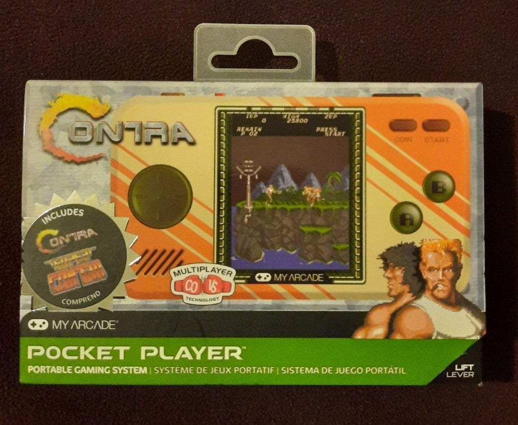 Pocket Player Contra 1 and 2