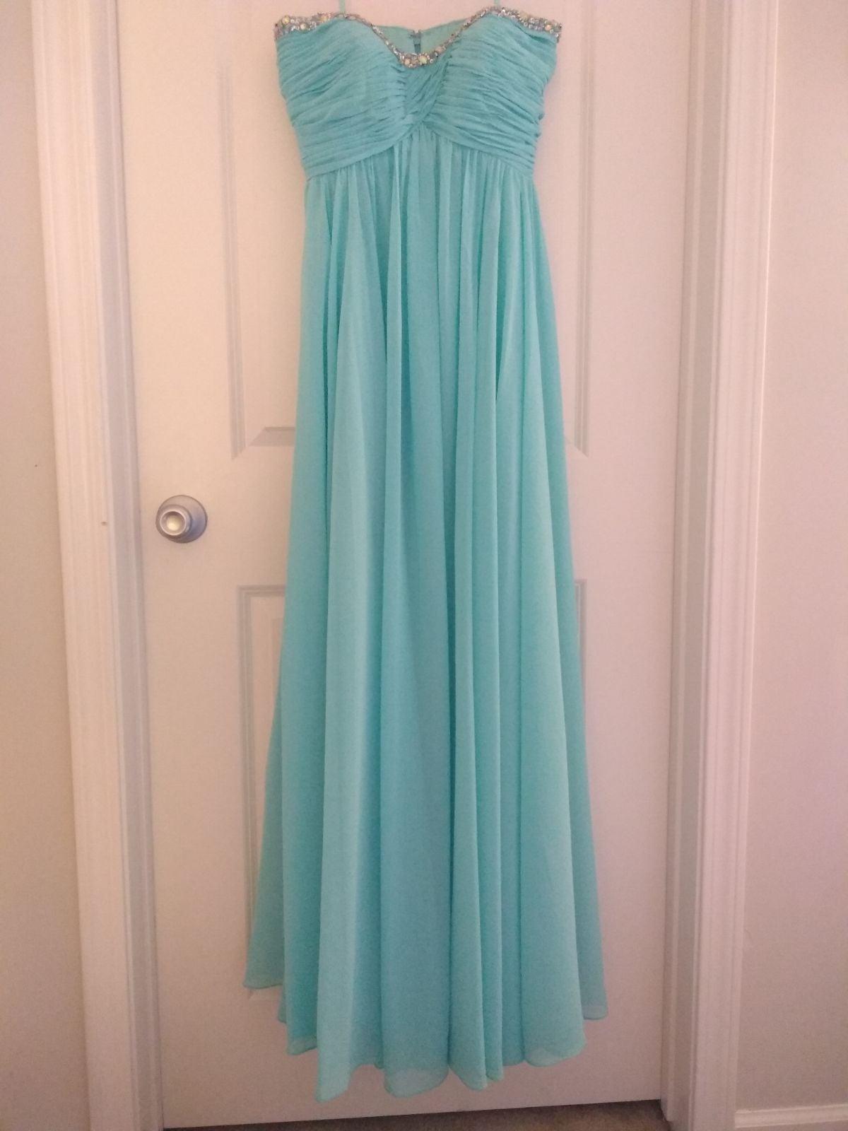 Prom Formal Dress Blue