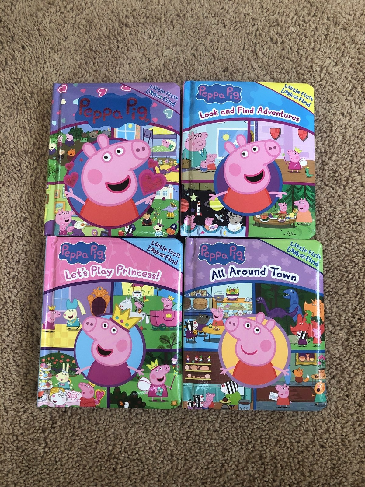Peppa Pig Look and Find Books