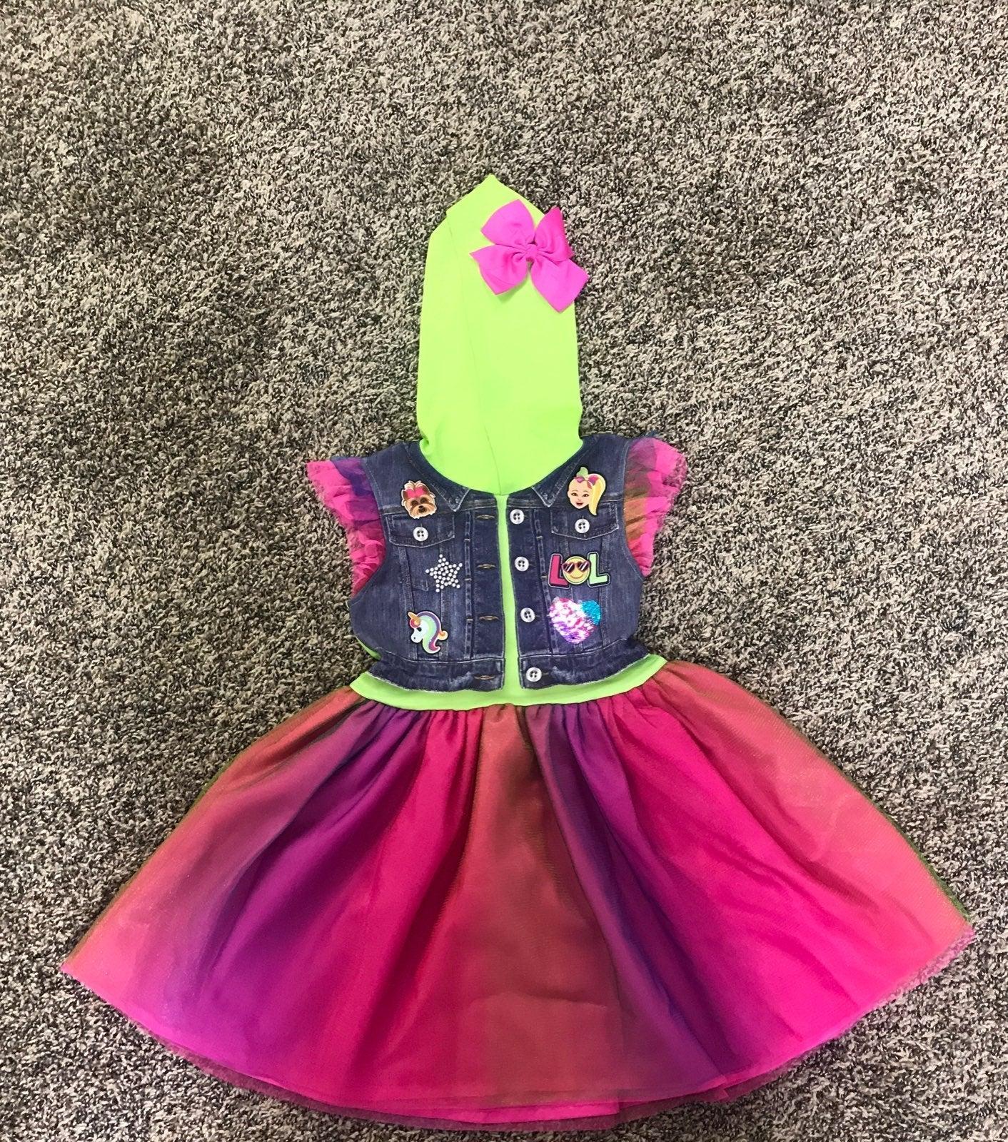 Jojo siwa dress 6/6x