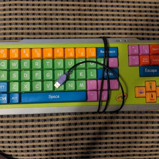 Kids Crayola Keyboard
