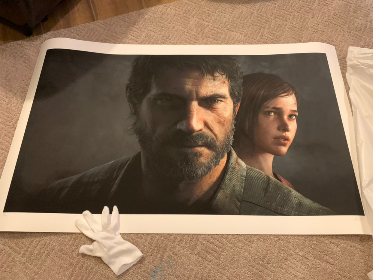 The last of us limited art print