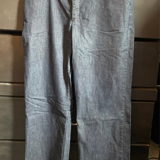 Lee natural straight leg jeans.  Size 14 petite.