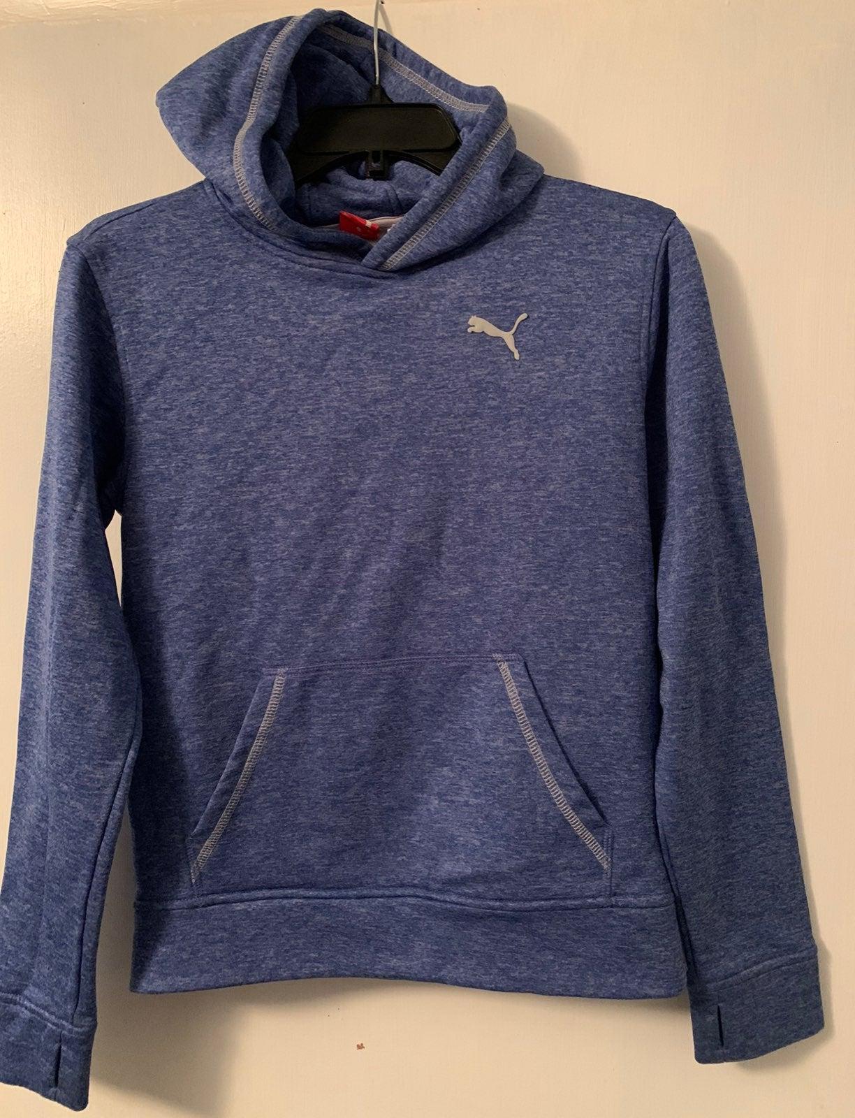 PUMA hoodie ( boys) blue