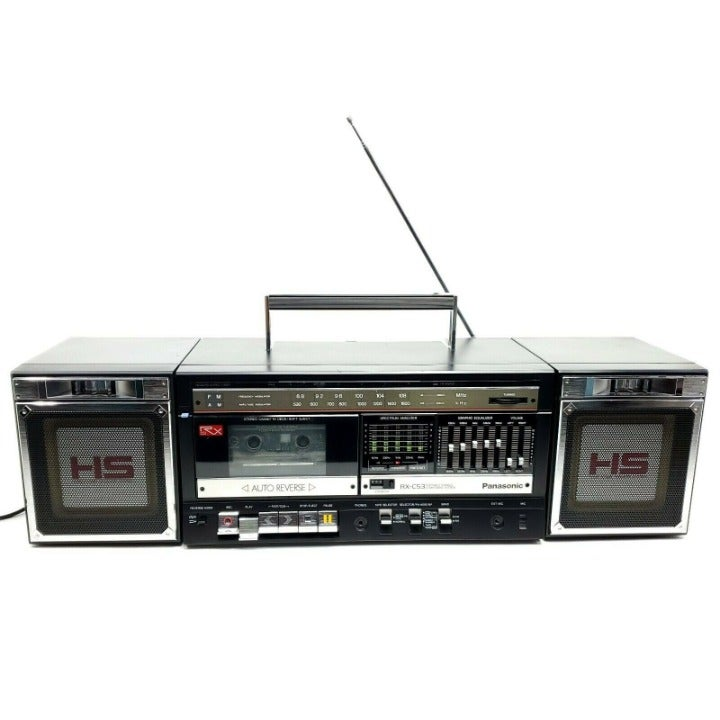Rare VTG Panasonic RX-C53 Stereo Boombox