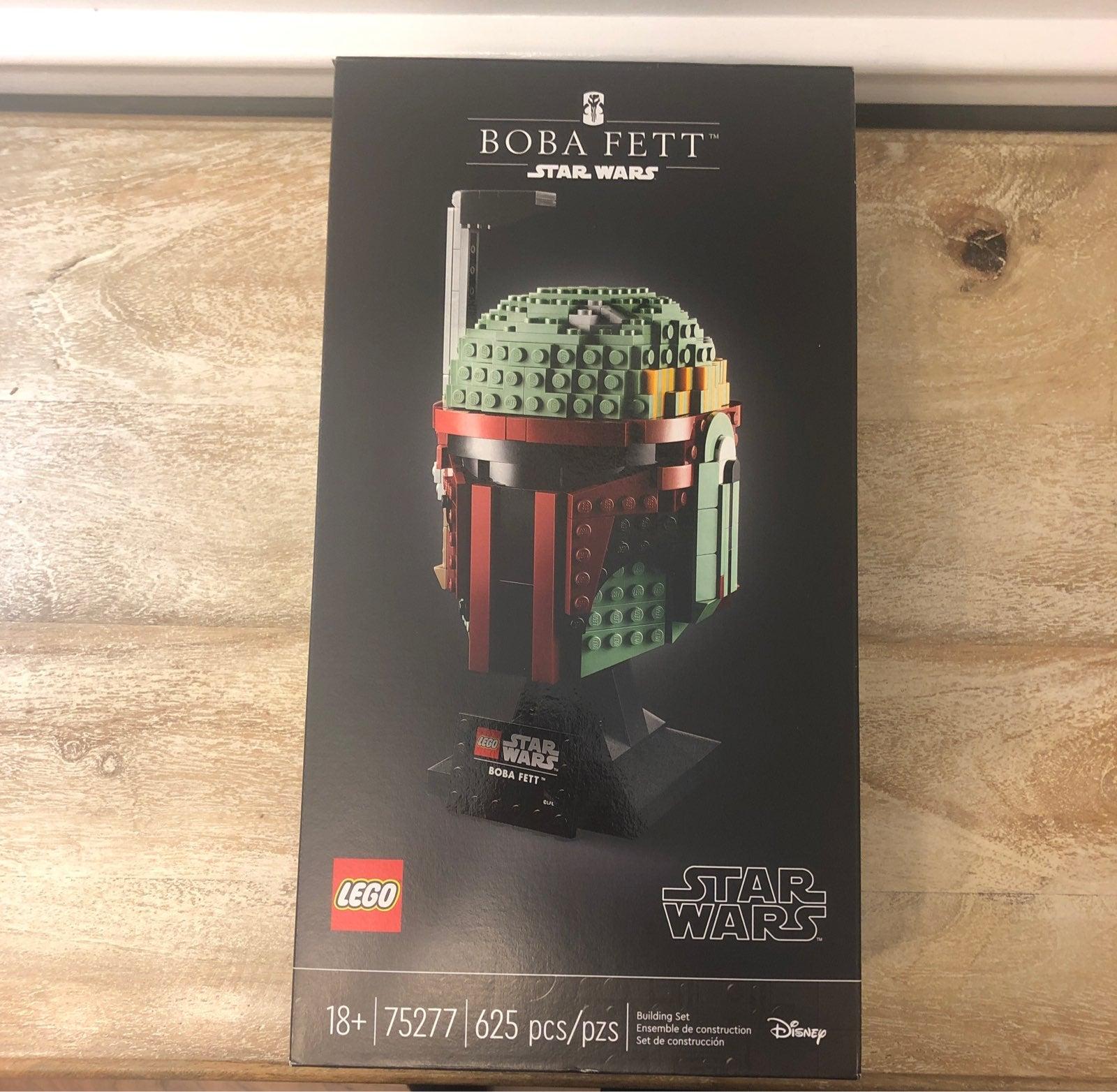 Boba Fett Helmet Star Wars Lego