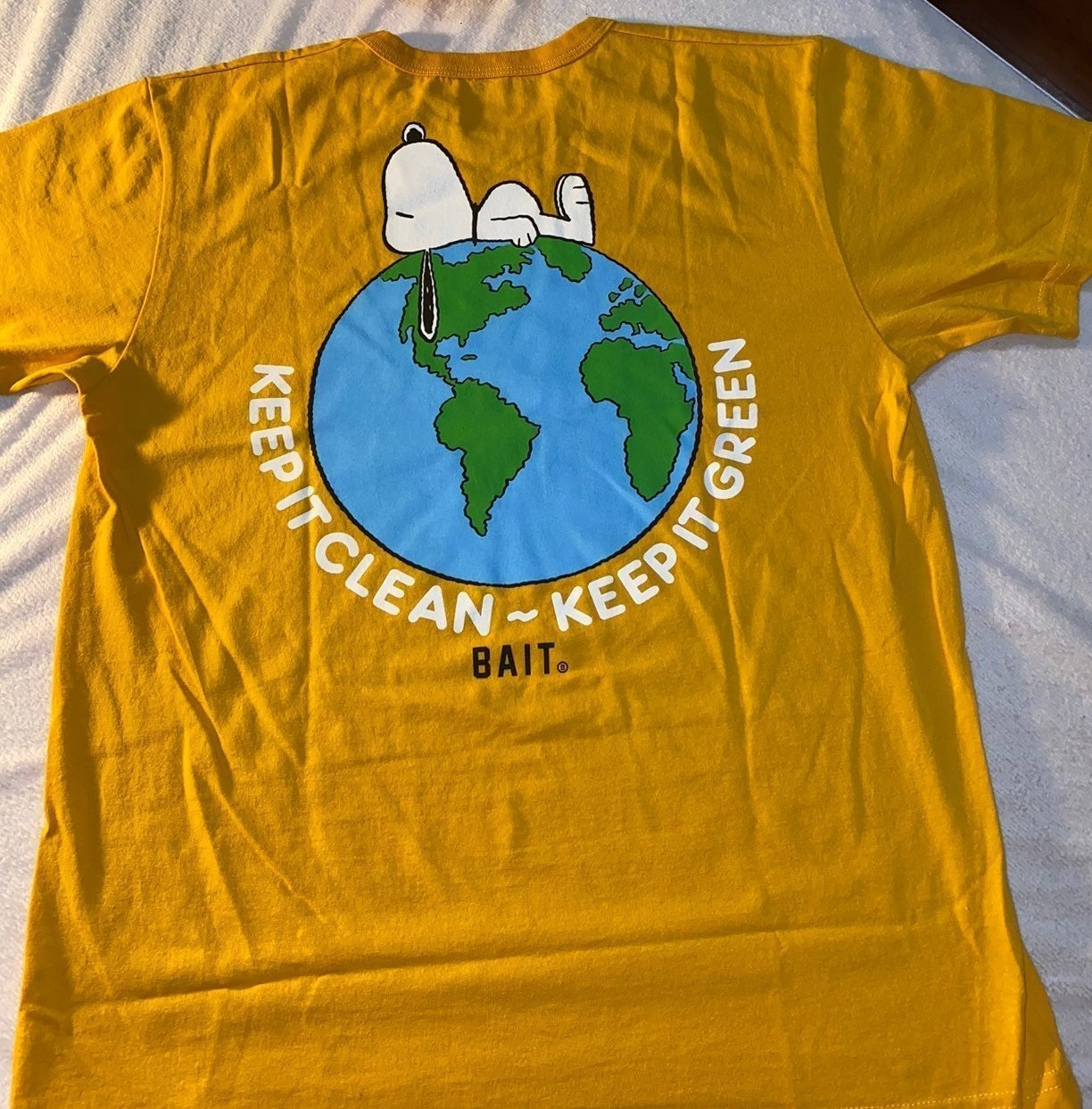 Peanuts x BAIT Earth Day T Shirt