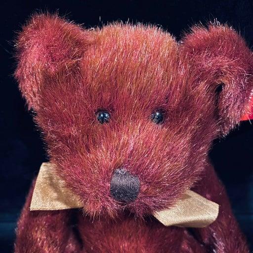 "Russ Berrie Teddy Bear Plush Bears Of The past - ""Tinker"""