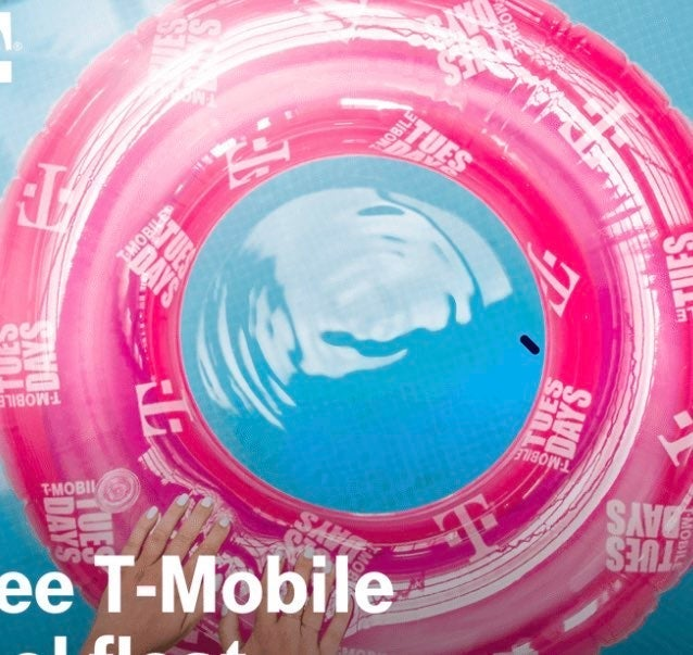 Tmobile T-Mobile Tuesdays Pool Float