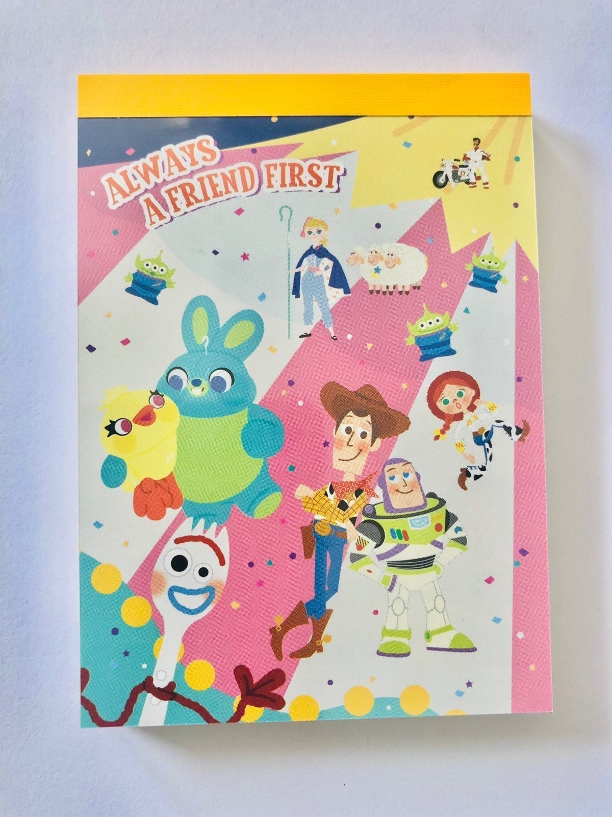 Toy story memo pad