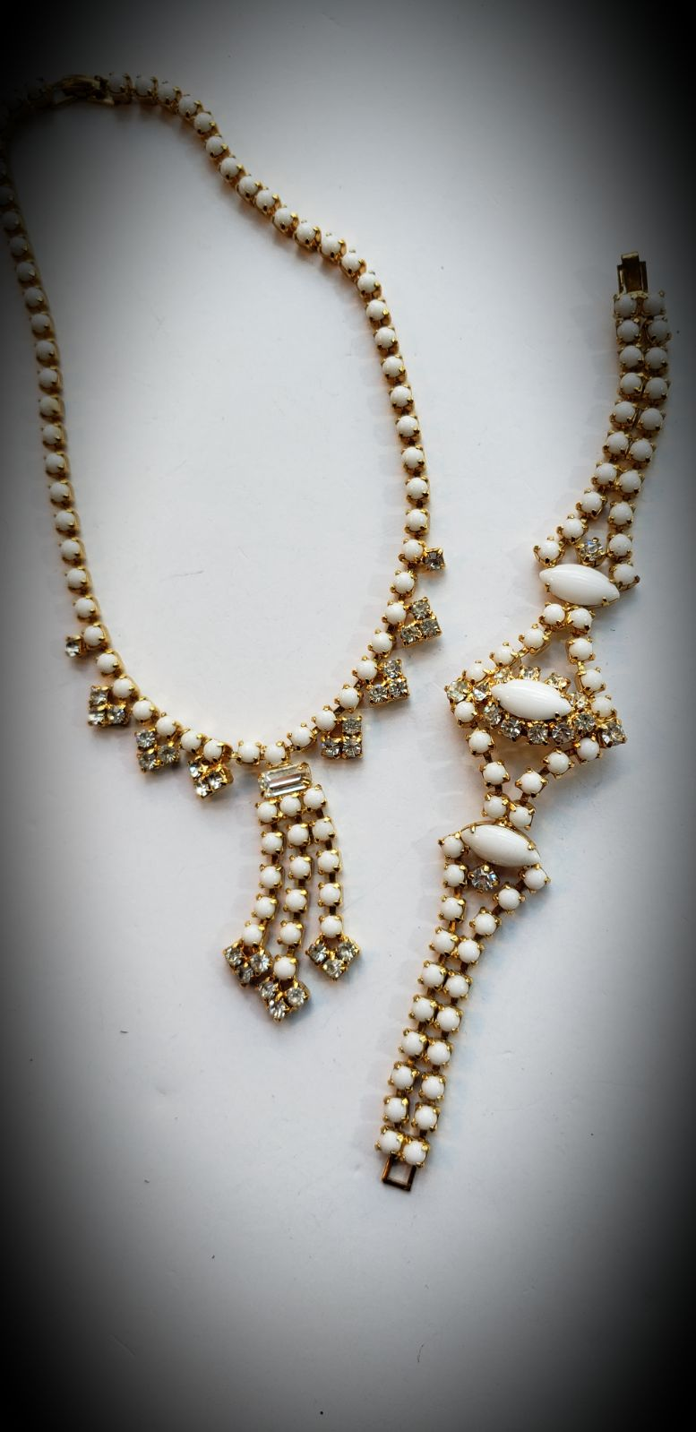 Bridal Special Occasion Set White Gold