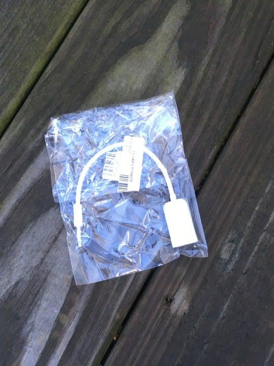 White 1:2 Headphone Y Splitter