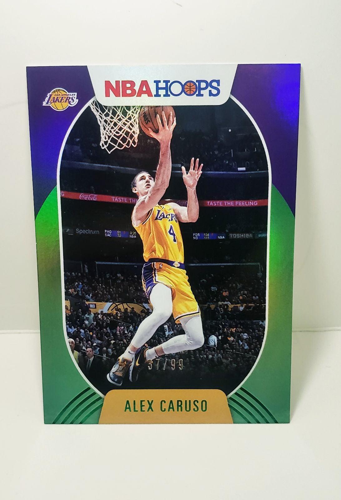 Alex Caruso Green Holo #37/99