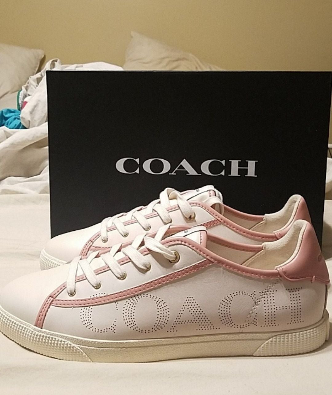Coach shoes that never been worn