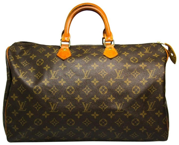 Louis Vuitton Large Monogram Speedy 40