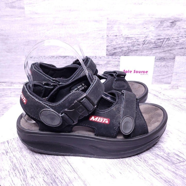 MBT Kismu 3 Sport Sandal Black 37 2/3