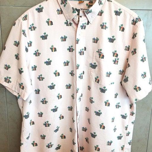 Tailor Vintage Mens Shirt Salmon XL