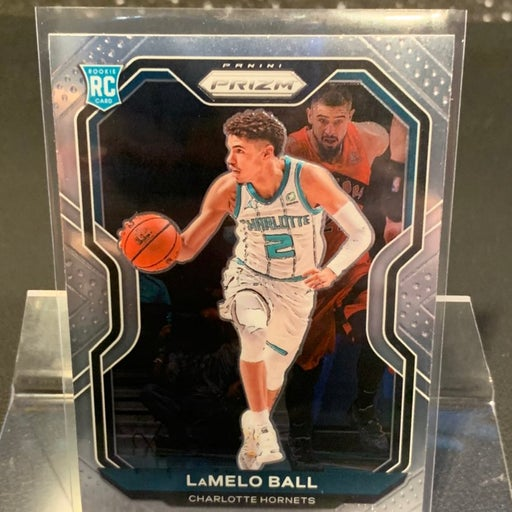 ROY LaMelo Ball Base Prizm Rookie Card