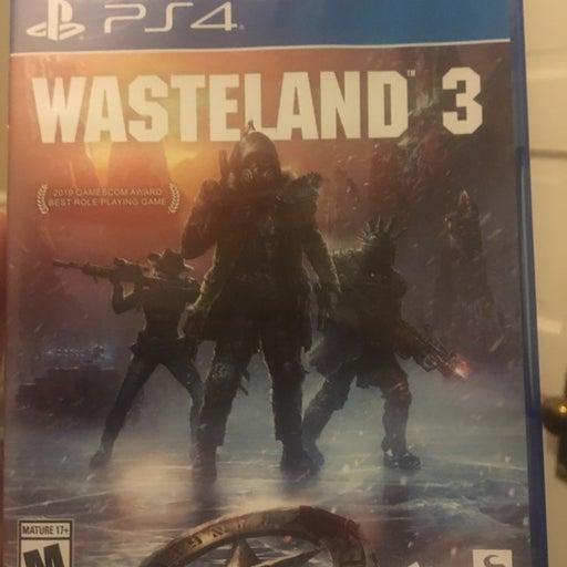 Wasteland 3 on Playstation 4