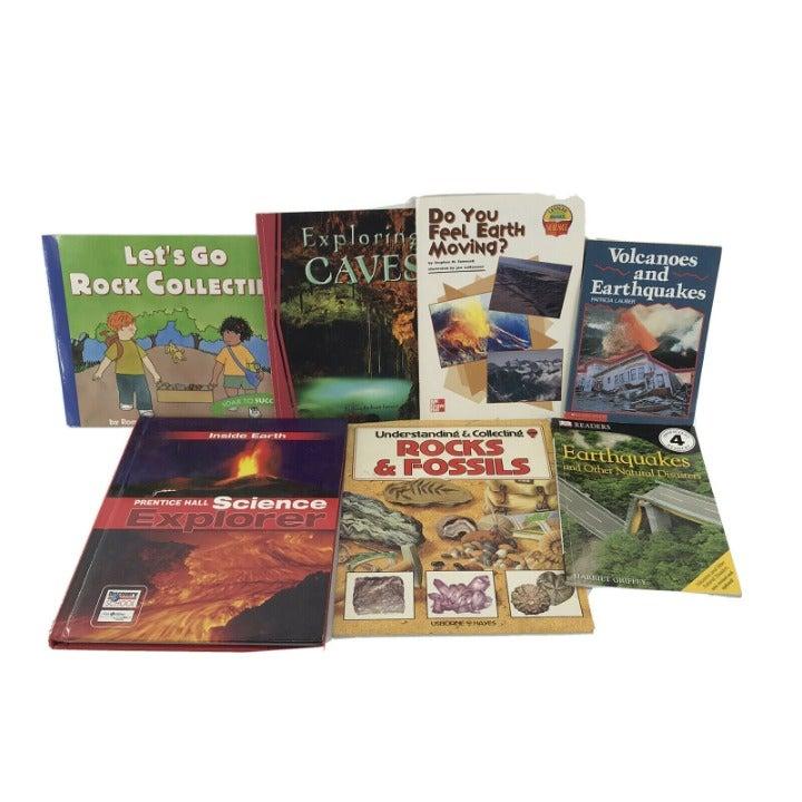 7 Non-fiction Kids Books - Earth Science