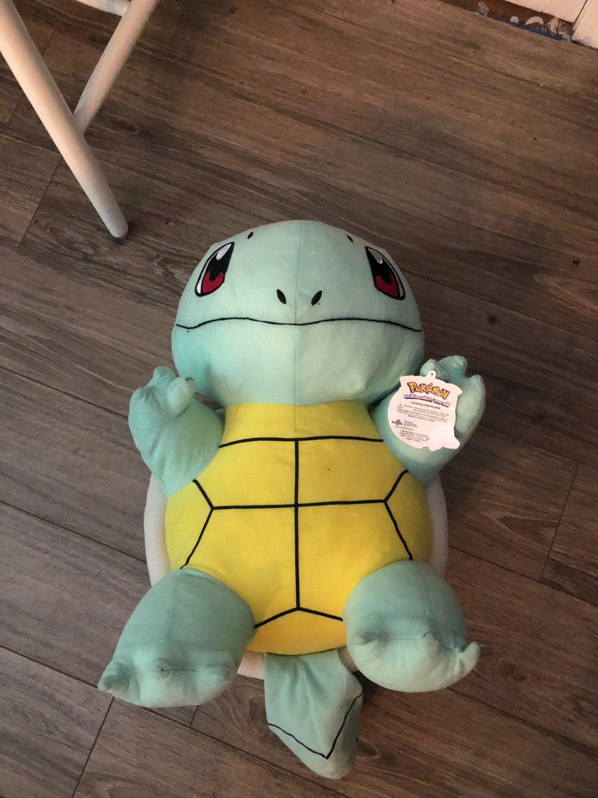 Giant Squirtle Pokémon Plush