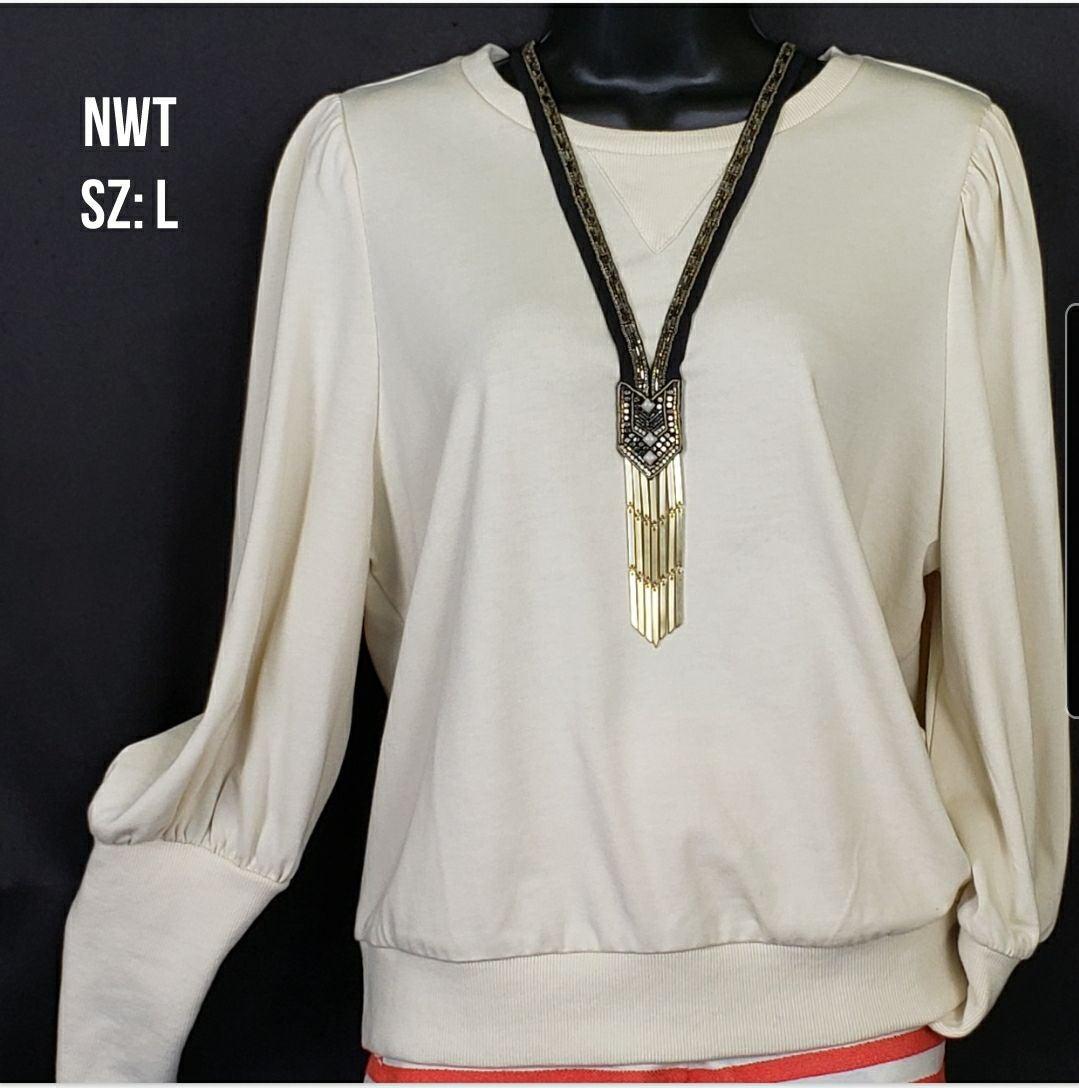 NWT Edwardian Pullover Sweatshirt