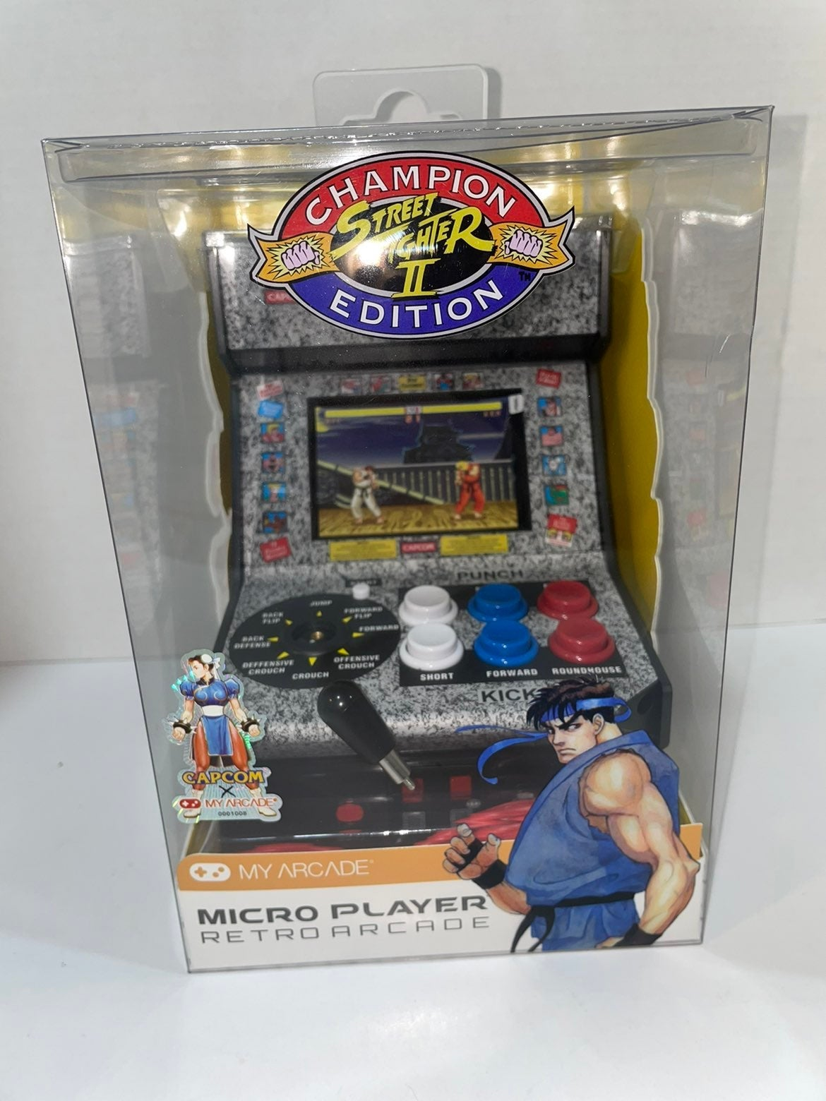 My Arcade Micro Player Street Fighter 2