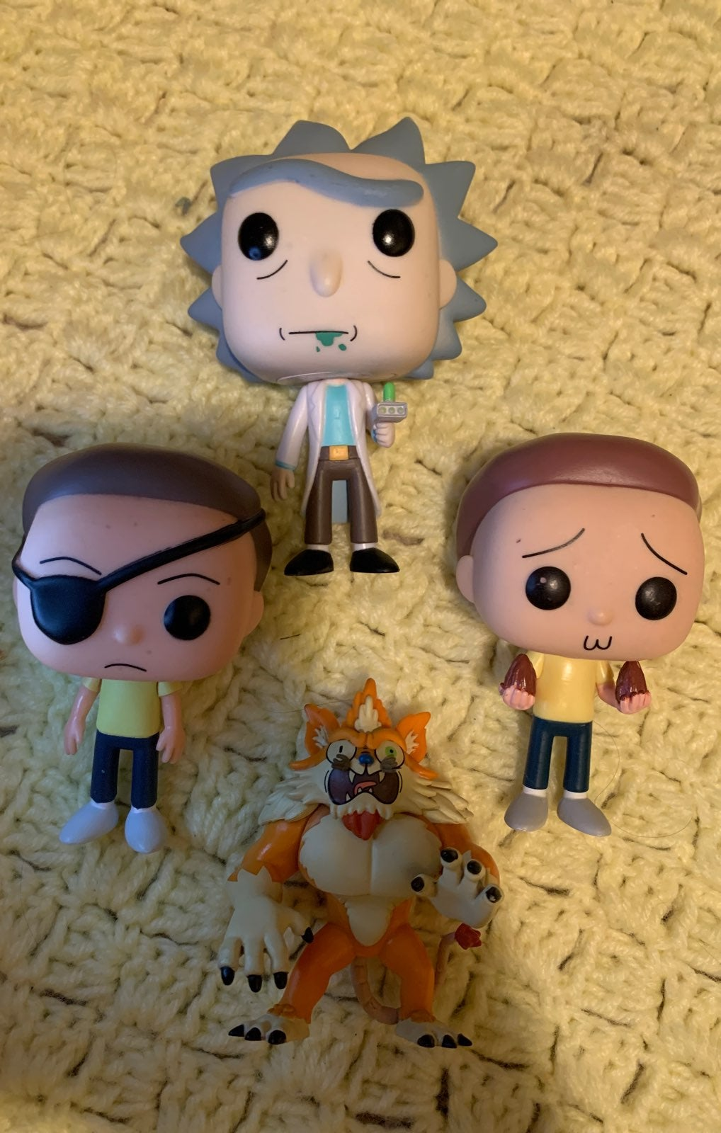 Rick and Morty Funko Pops oob