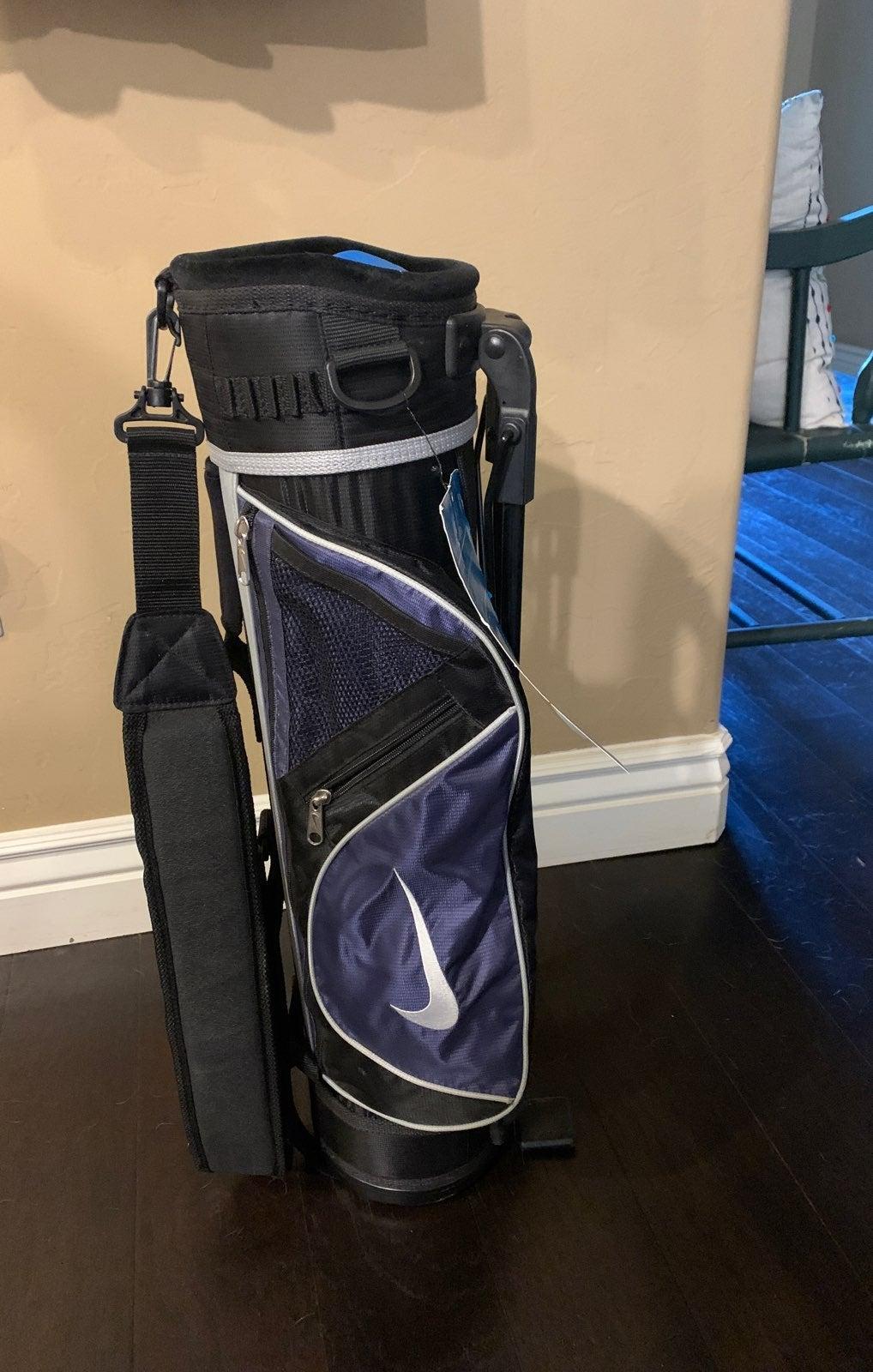 Nike Birdie Blue Kids' Golf Bag