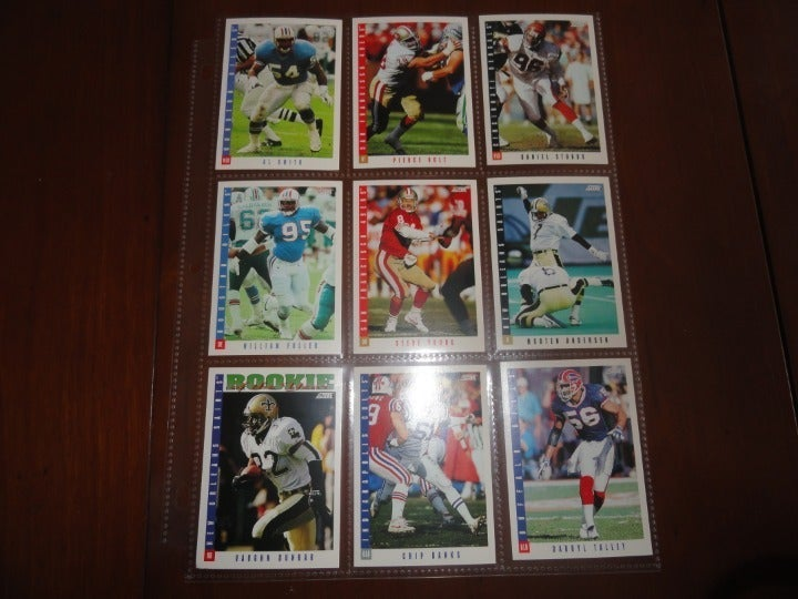 1993 Score Football Assorted Cards Lot#3