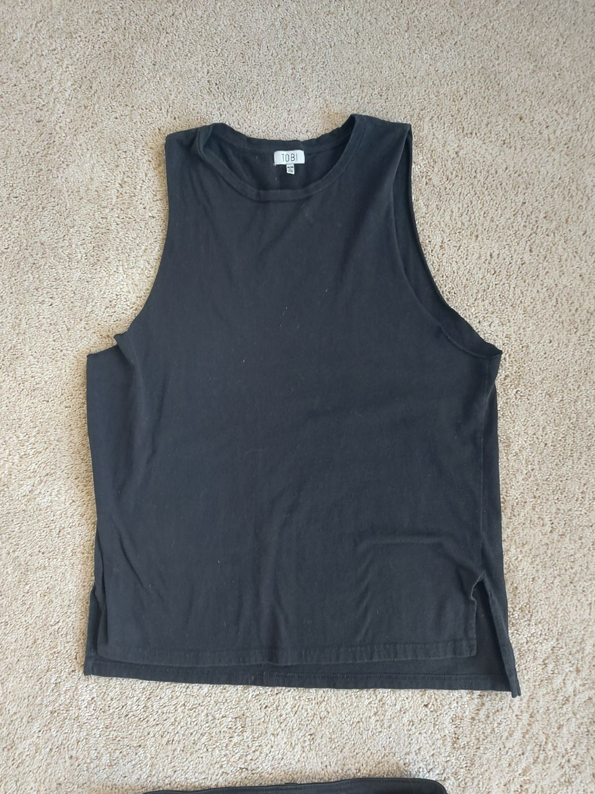 TOBI muscle arm hole top