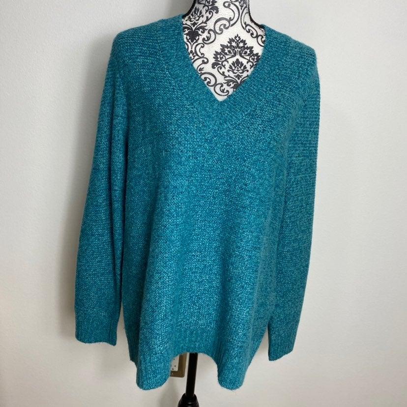 J. Jill Alpaca Blend Oversized Sweater M
