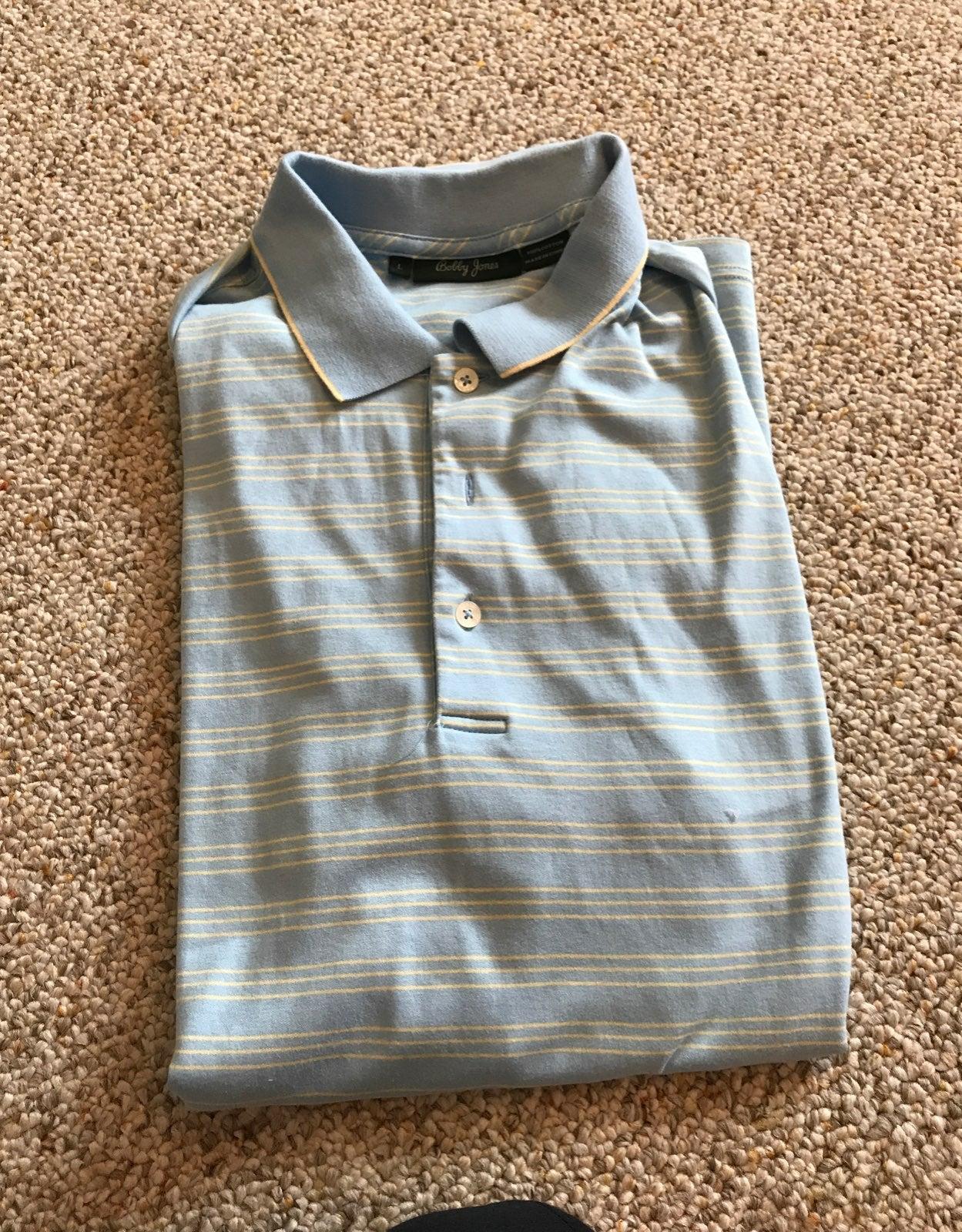 Golf shirts Bobby Jone Sz lg