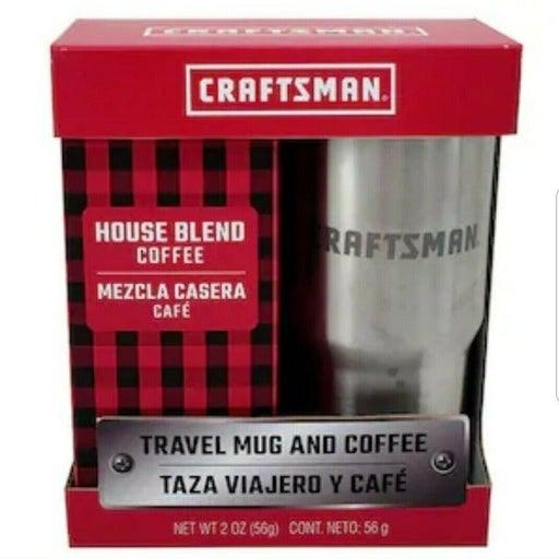 Craftsman TravelMug and Coffee Gift Set