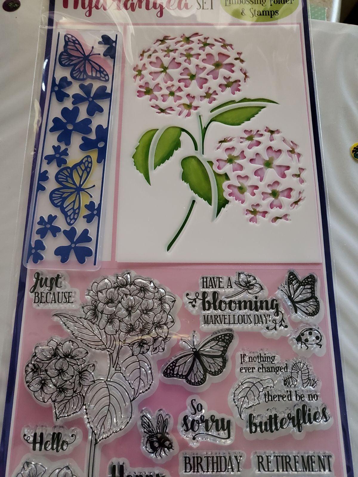 flower stamp sets