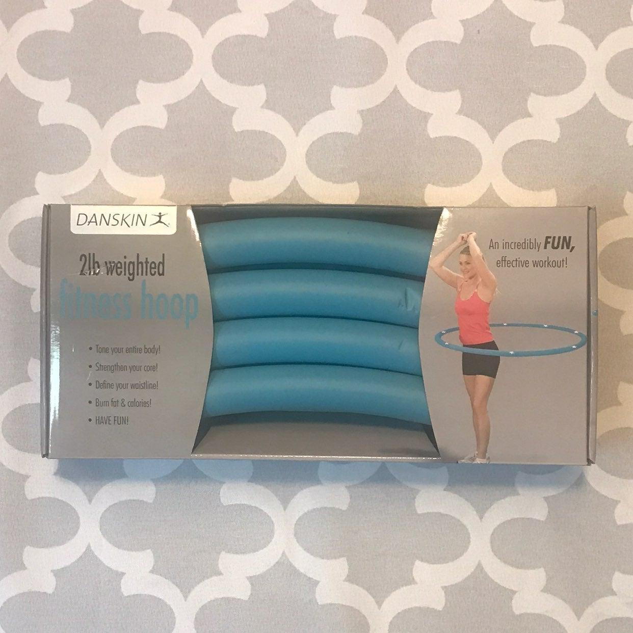 Danskin 2lb Weighted Fitness Hoop