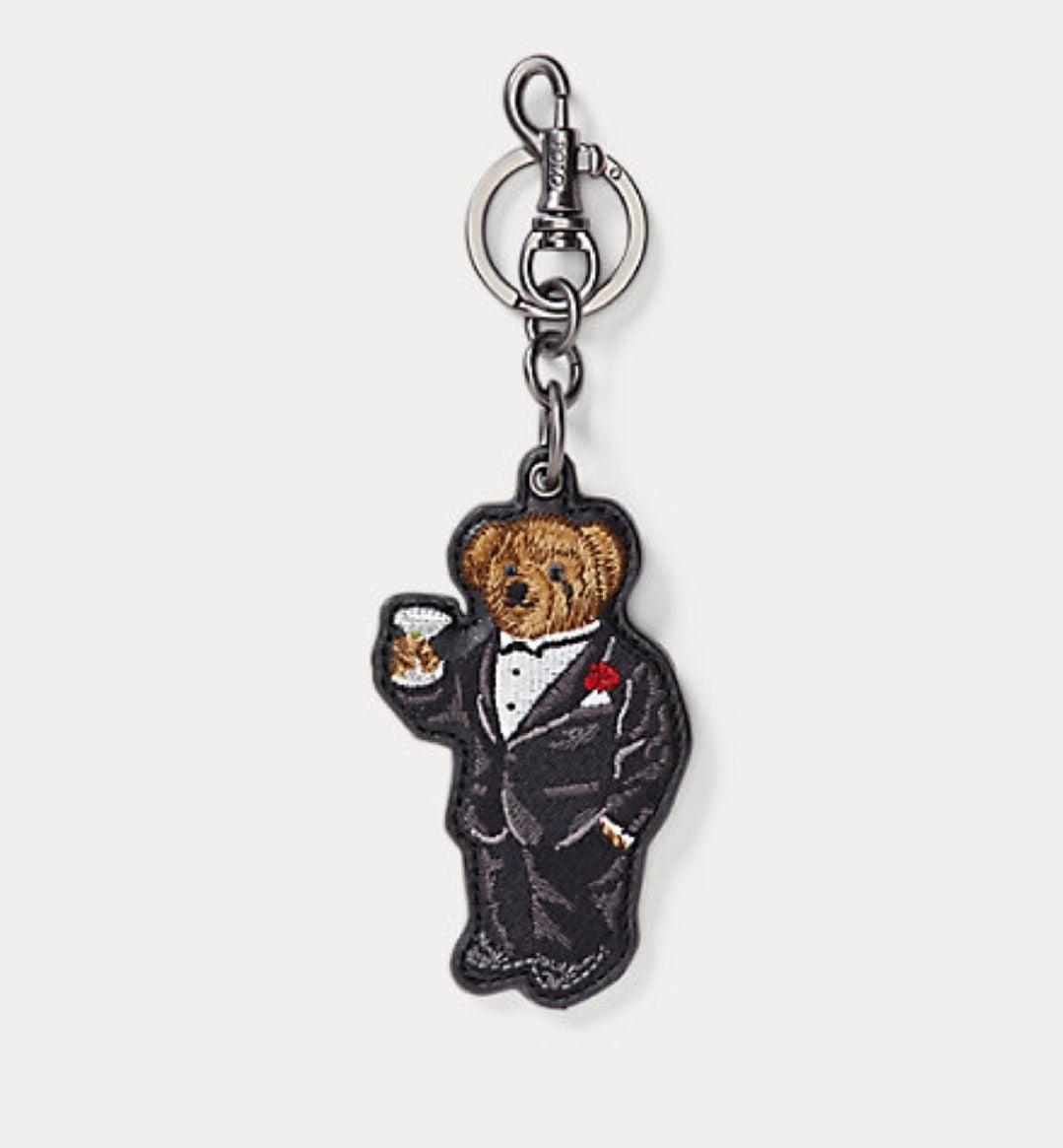Ralph Lauren Polo Bear Tuxedo Keychain