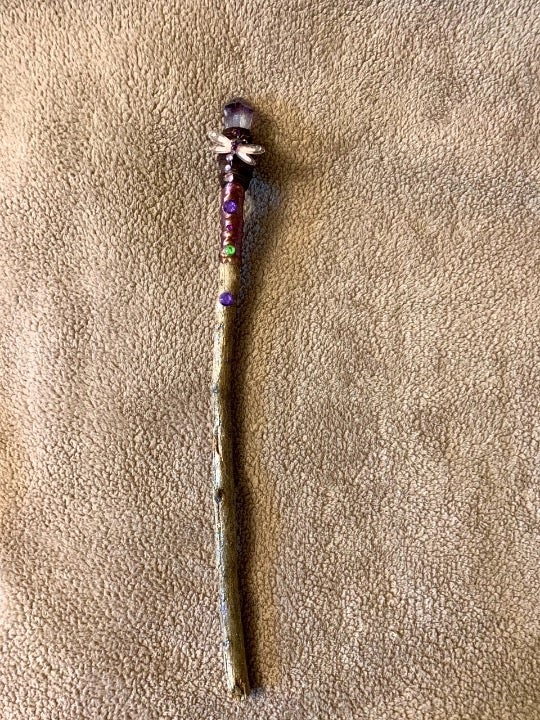 Amethyst Magic Wand of Adventure Freedom