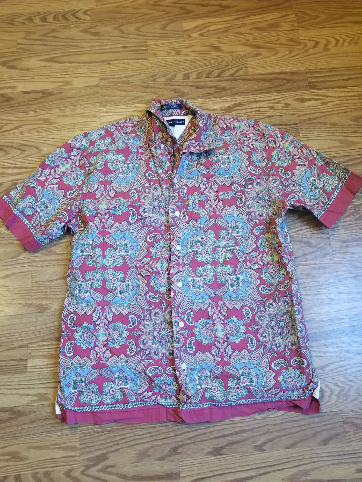 Mens Tommy Hilfiger Button Up Shirt M