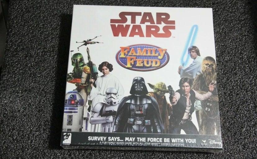 Star Wars Family Feud Board game