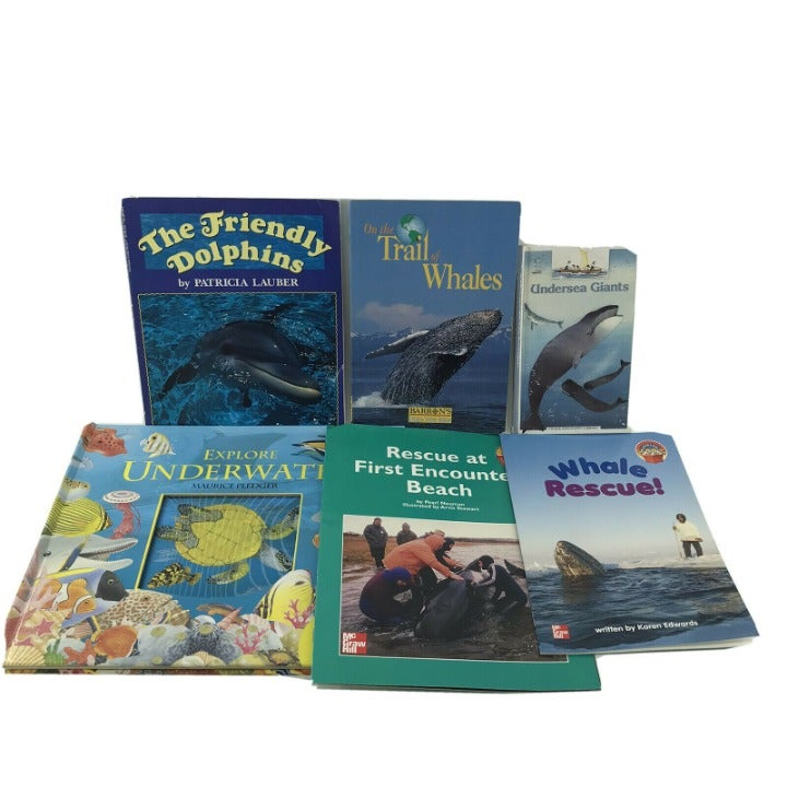 Non-fiction Kids Books About Ocean Life