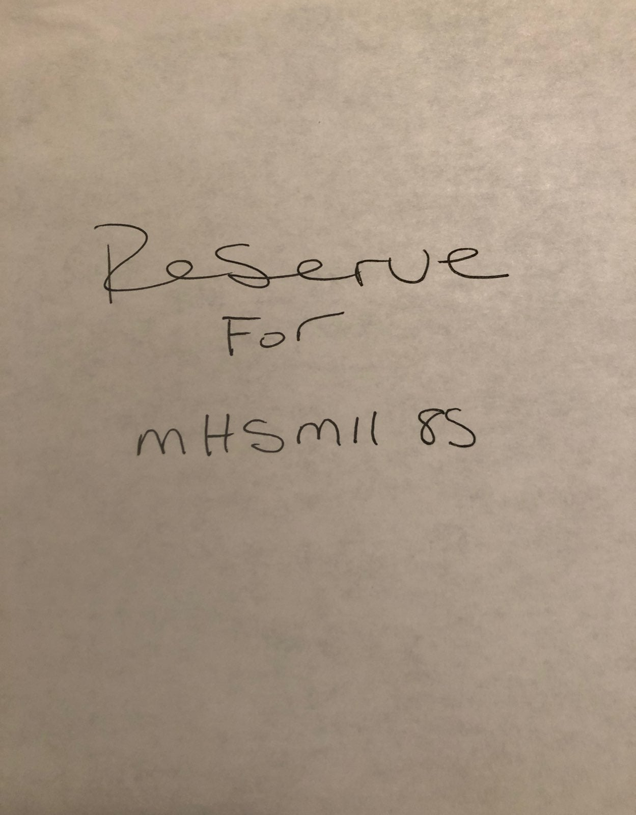 Bundle for mhsmll85